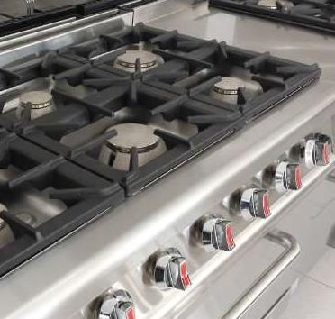 Cocina a gas 6 fuegos serie 700 promercury maquinaria for Cocina 6 fuegos industrial