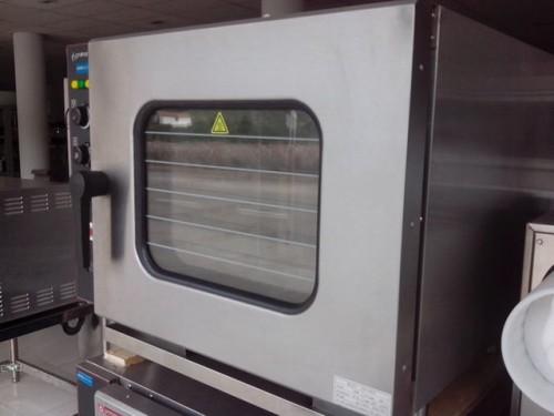 Horno el ctrico convecci n vapor gn 1 1 6 bandejas for Horno electrico dimensiones