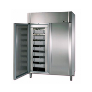 Armario refrigeración 2 puertas para pescado