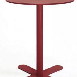 Mesa modelo ANTIBES en color granate vino. Maquinaria y mobiliario de hostelería