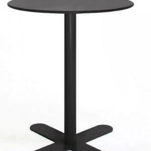 Mesa modelo ANTIBES en color negro noche. Maquinaria y mobiliario de hostelería