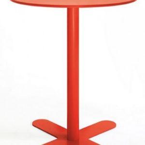 Mesa modelo ANTIBES en color rojo. Maquinaria y mobiliario de hostelería