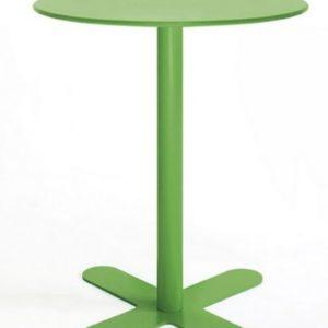 Mesa modelo ANTIBES en color verde hierba. Maquinaria y mobiliario de hostelería