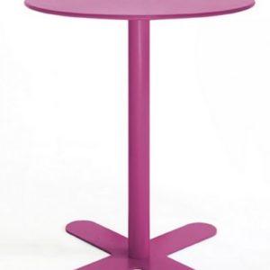 Mesa modelo ANTIBES en color púrpura buganvilla. Maquinaria y mobiliario de hostelería