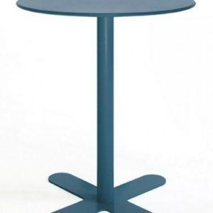 Mesa modelo ANTIBES en color azul ultramar. Maquinaria y mobiliario de hostelería