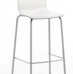 Taburete modelo AVA en color gris. Maquinaria y mobiliario de hostelería