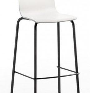 Taburete modelo AVA en color negro. Maquinaria y mobiliario de hostelería