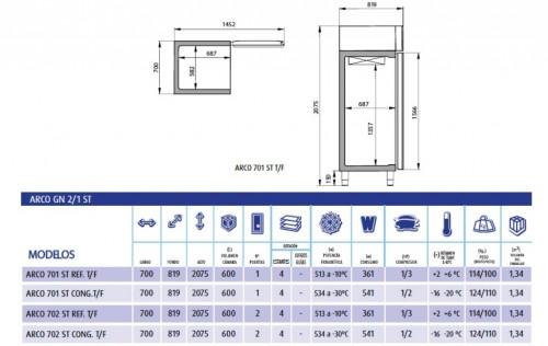 Armario-congelación-ARCO-ST-7001