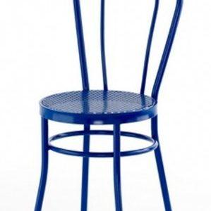 Silla modelo Noa en color azul. Maquinaria y mobiliario de hostelería