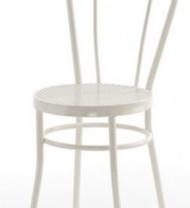 Silla modelo Noa en color blanco. Maquinaria y mobiliario de hostelería