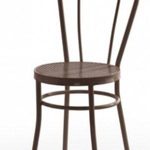 Silla modelo Noa en color marrón. Maquinaria y mobiliario de hostelería