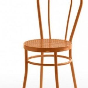 Silla modelo Noa en color naranja. Maquinaria y mobiliario de hostelería