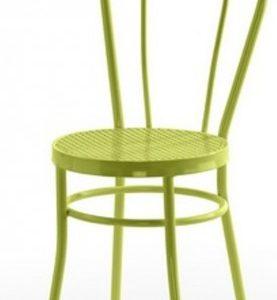 Silla modelo Noa en color verde. Maquinaria y mobiliario de hostelería