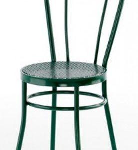 Silla modelo Noa en color verde oscuro. Maquinaria y mobiliario de hostelería