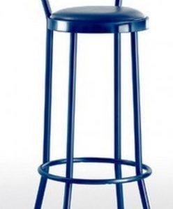 Taburete modelo DIDO 2 en color azul. Maquinaria y mobiliario de hostelería