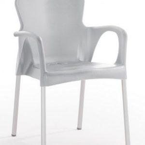 Silla modelo GRACE en color gris oscuro. Maquinaria y mobiliario de hostelería