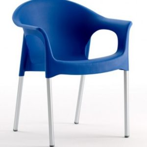 Silla modelo PIA en color azul. Maquinaria y mobiliario de hostelería
