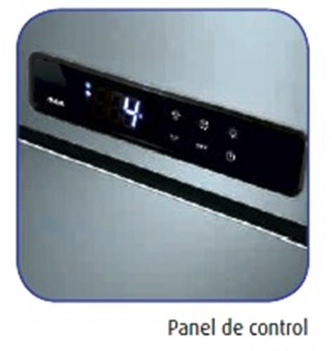 Armario refrigerado dos puertas acero inox de dos temperaturas para hostelería