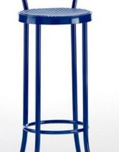 Taburete modelo DIDO 1 en color azul. Maquinaria y mobiliario de hostelería