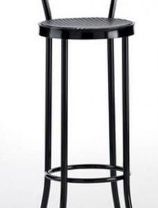 Taburete modelo DIDO 1 en color negro. Maquinaria y mobiliario de hostelería
