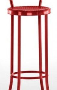 Taburete modelo DIDO 1 en color rojo. Maquinaria y mobiliario de hostelería