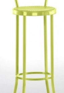 Taburete modelo DIDO 1 en color verde. Maquinaria y mobiliario de hostelería