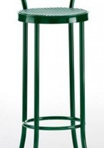 Taburete modelo DIDO 1 en color verde oscuro. Maquinaria y mobiliario de hostelería