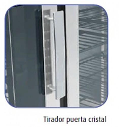 Armario expositor congelaci n gn 2 1 st 1400 maquinaria - Tirador puerta cristal ...