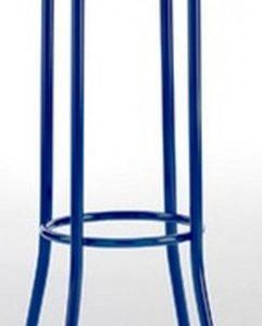 Taburete modelo DIDO 4 en color azul. Maquinaria y mobiliario de hostelería