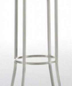 Taburete modelo DIDO 4 en color blanco. Maquinaria y mobiliario de hostelería