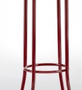 Taburete modelo DIDO 4 en color burdeos. Maquinaria y mobiliario de hostelería