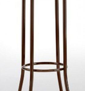 Taburete modelo DIDO 4 en color marrón. Maquinaria y mobiliario de hostelería