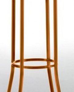 Taburete modelo DIDO 4 en color naranja. Maquinaria y mobiliario de hostelería