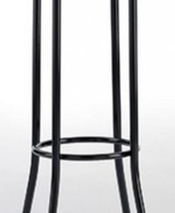 Taburete modelo DIDO 4 en color negro. Maquinaria y mobiliario de hostelería