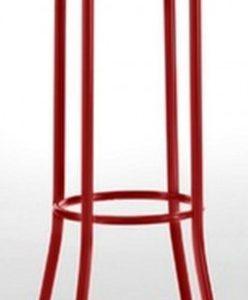 Taburete modelo DIDO 4 en color rojo. Maquinaria y mobiliario de hostelería