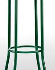 Taburete modelo DIDO 4 en color verde oscuro. Maquinaria y mobiliario de hostelería