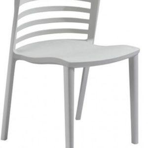 Silla de hostelería modelo LOU en gris. Maquinaria y mobiliario de hostelería