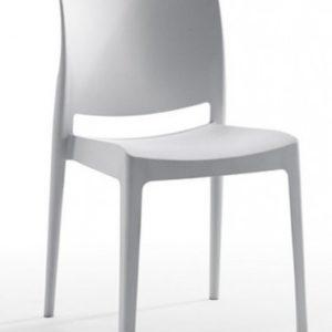 Silla modelo Noa en color gris. Maquinaria y mobiliario de hostelería