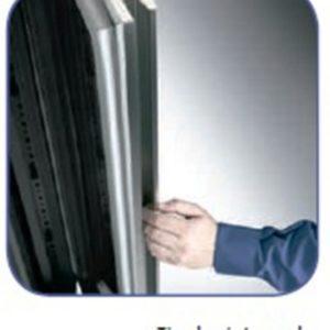 Armario de hostelería de dos temperaturas con capacidad para bandejas GN 2/1 modelo ST 1400. Maquinaria y mobiliario de hostelería
