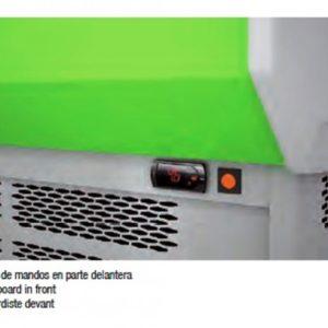 Vitrina expositora mural marca Docriluc. Modelos MB-8-100 y MB-8-150. Maquinaria y mobiliario de hostelería