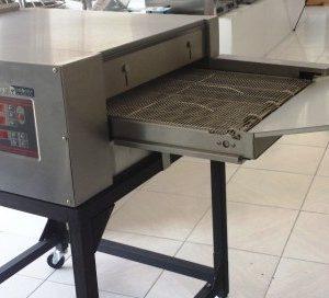 Horno para pizza de tunel electrico marca Promercury. Maquinaria y mobiliario de hostelería