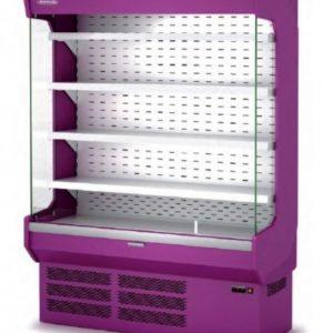 Vitrina Mural en color violeta. Maquinaría y mobiliario para hostelería.