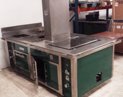 cocina charvet show cooking central segunda mano On mobiliario cocina segunda mano