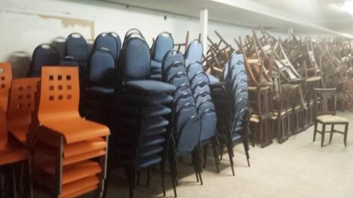 Cartel para promoción de sillas