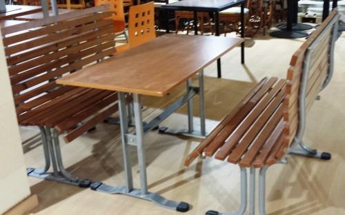 Mesa madera nogal segunda mano maquinaria hosteler a for Hosteleria segunda mano
