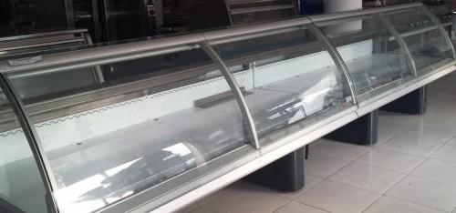 Vitrina expositora refrigerada 5000 carnicer a segunda - Vitrinas de cristal de segunda mano ...
