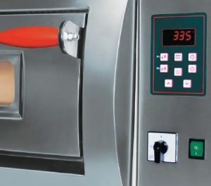 Horno eléctrico de control digital Pizza Group. Maquinaria de hostelería