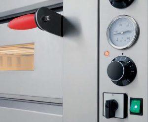 Control mecánico para horno eléctrico Pizza Group. Maquinaria de hostelería