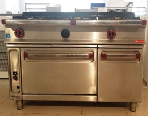 cocina a gas 3 fuegos horno repagas segunda mano On maquinaria cocina segunda mano