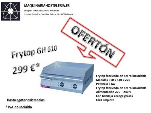 Oferta Frytop modelo GH 610. Maquinaria y mobiliario de hostelería